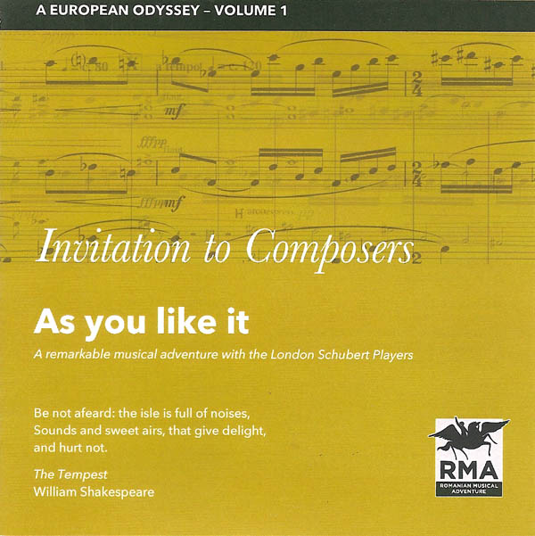 Invitation to Composers - As You Like it